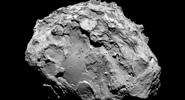 Rosetta captures water's escape from Comet 67P