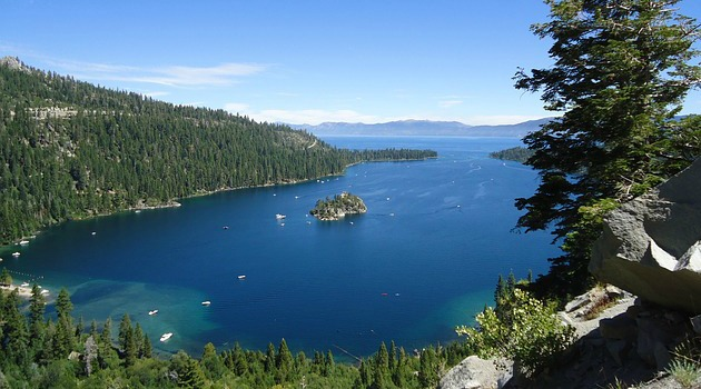 Lake Tahoe in record-breaking warmest year
