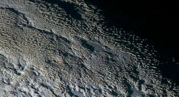 Spacecraft finds startling discovery on Pluto's moon
