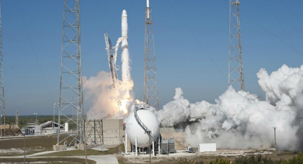 SpaceX Falcon suffers 'Max' damage after rough landing