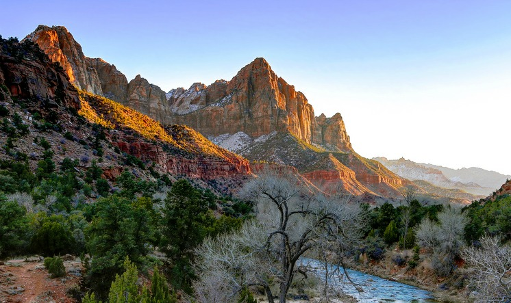 Zion National Park formed by epic landslide