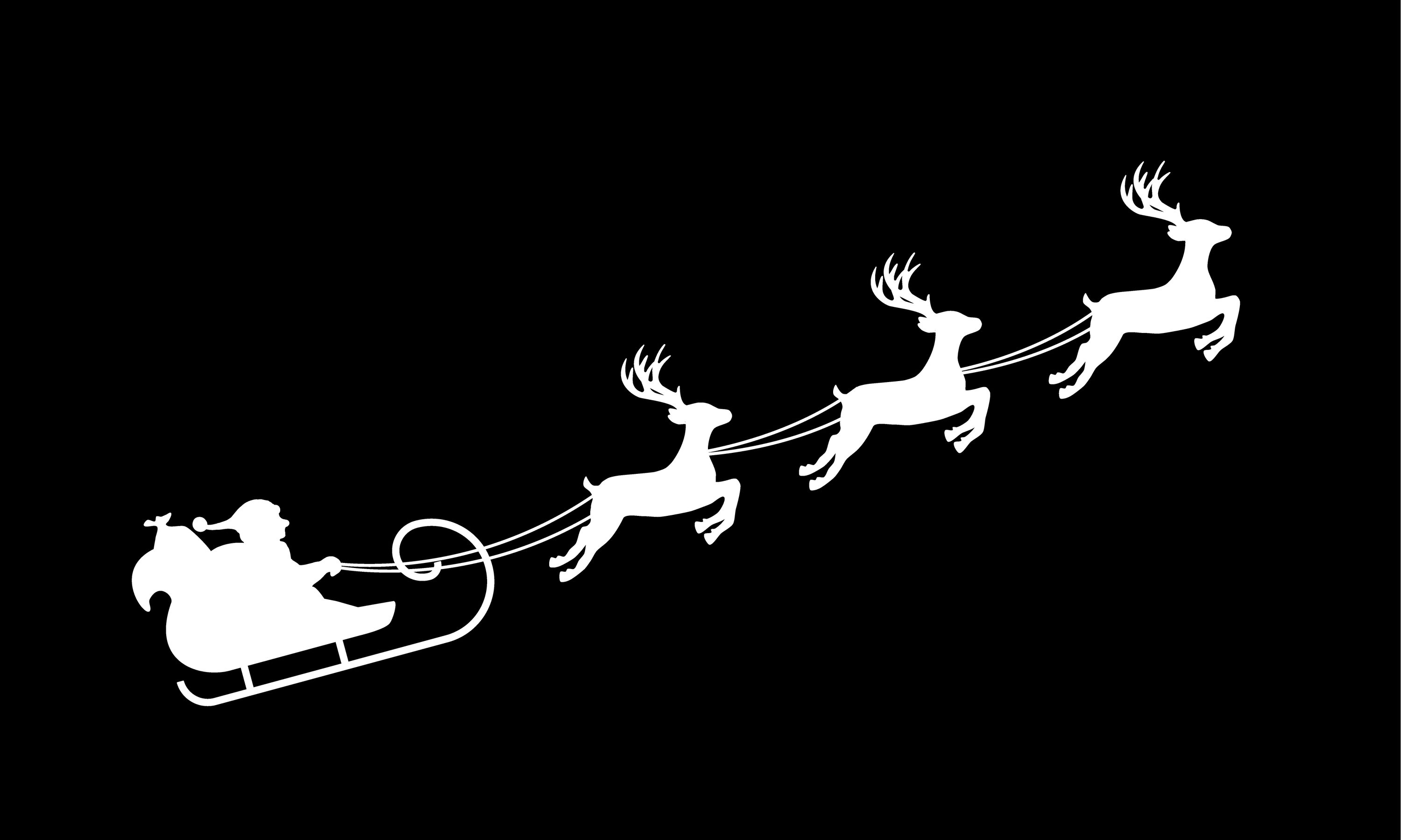 Will post-climate change reindeer be able to pull Santa's sleigh?