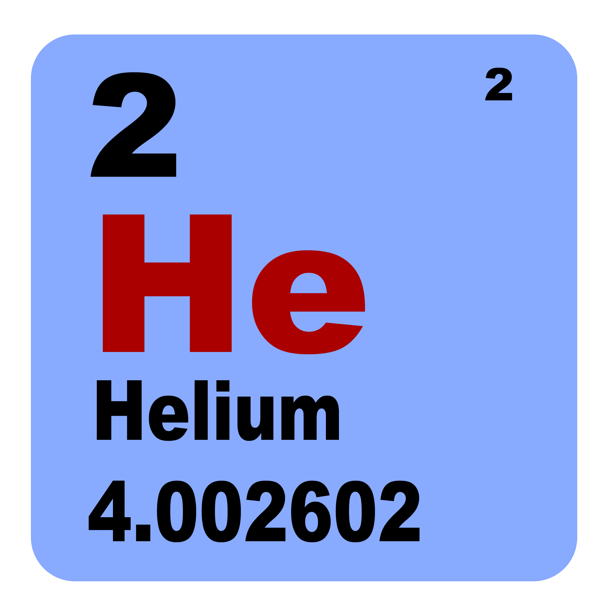Who knew there might be a helium shortage?