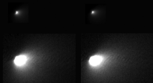 Two massive comets are making their way toward the Earth
