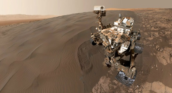 Amazing discovery: NASA's Curiosity finds iron meteorite on Mars