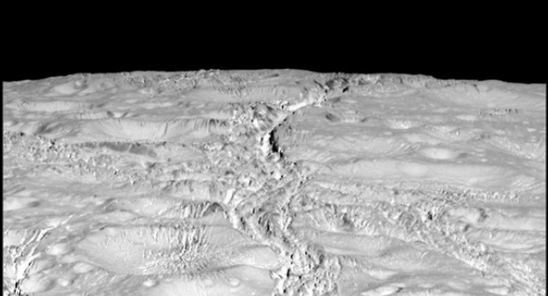Astronomers stunned by new photos of Saturn's icy moon Enciladus