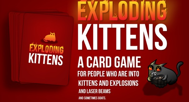 "How this weird ""Exploding Kittens"" game raised $8.8 million"