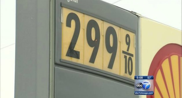Low gas prices fought off inflation this summer