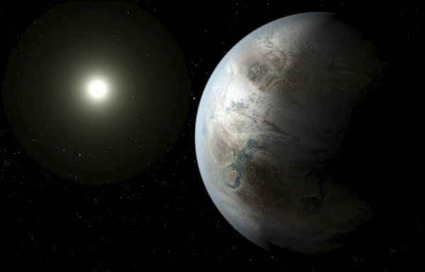 Could Kepler's flickering star be a signal from aliens?