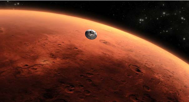 Scientists solve the mystery of Mars' missing atmosphere