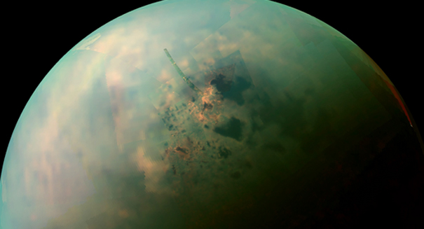 NASA scientists shocked by Titan's mysterious mountains
